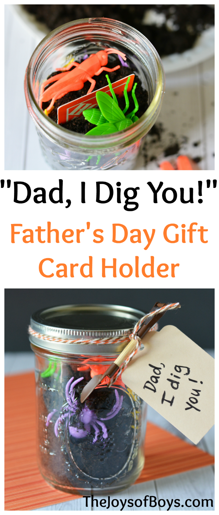 Father's Day Gift Card Holder