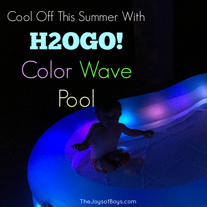Cool Off This Summer with H2OGO! Color Wave Pool