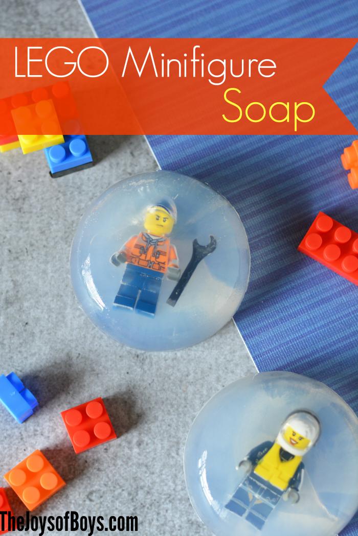 Make LEGO Minifigure Soap