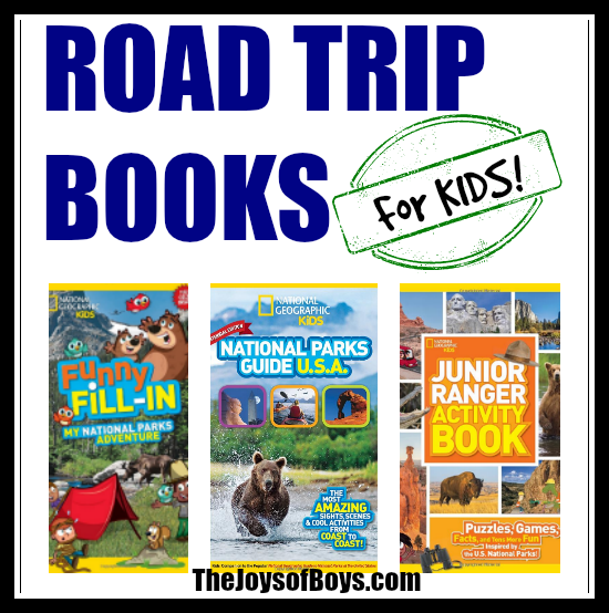 Road Trip Books kids will love
