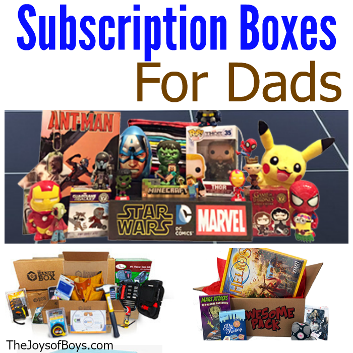 Subscription boxes for dads