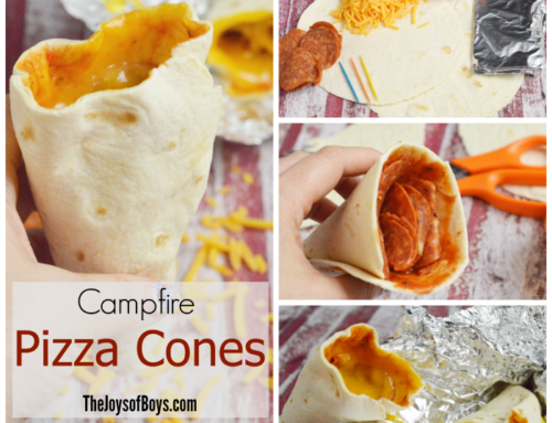Campfire Pizza Cone Recipe