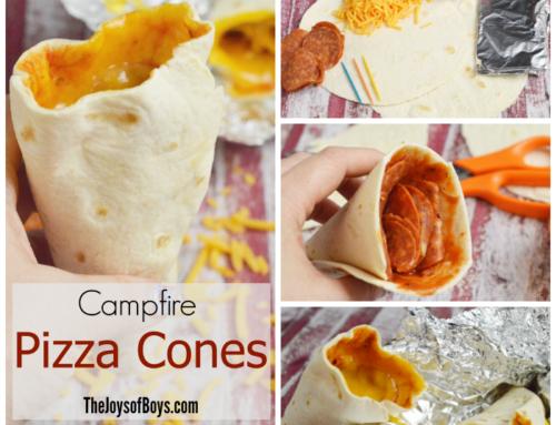 Campfire Pizza Cone Recipe