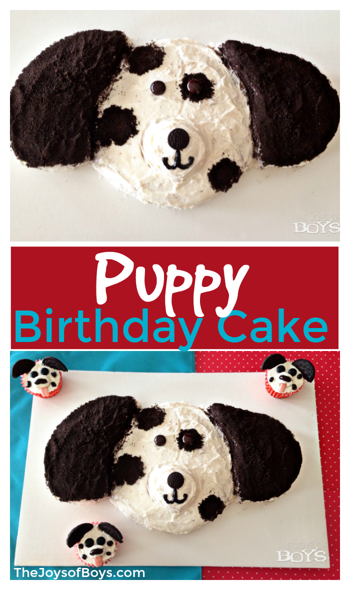Puppy Birthday Cake Kids Will Love