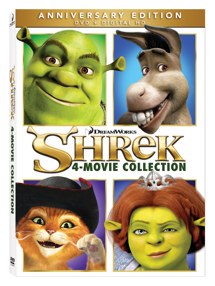 Shrek Anniversary movie collection