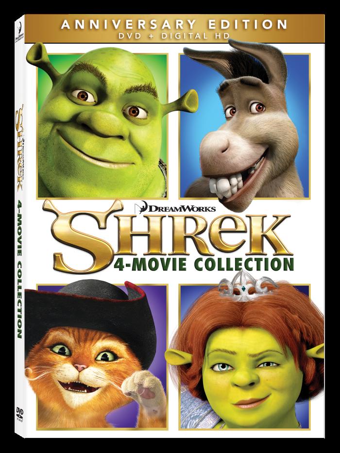 Shrek Anniversary movie collection