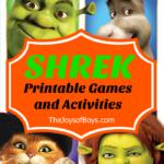 Shrek printable activities