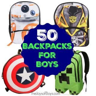 Backpacks for Boys