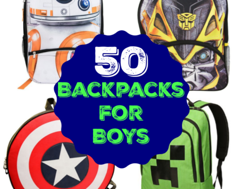 50 Backpacks for Boys
