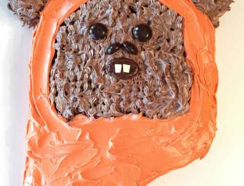 Ewok Cake: Easy Star Wars Birthday Cake
