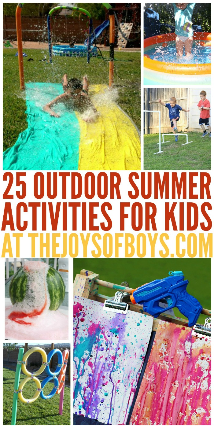 summer activities for kids 25 outdoor summer activities for 5502
