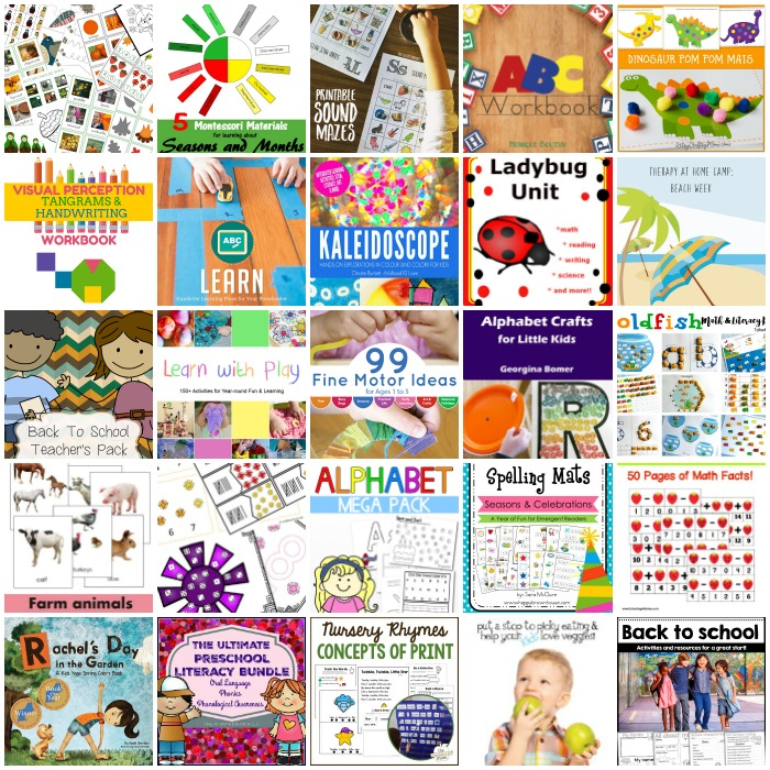Back to School Early Years Bundle