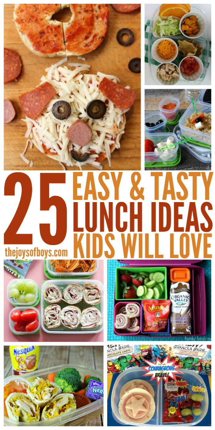 Easy Lunch Ideas Kids Will Love