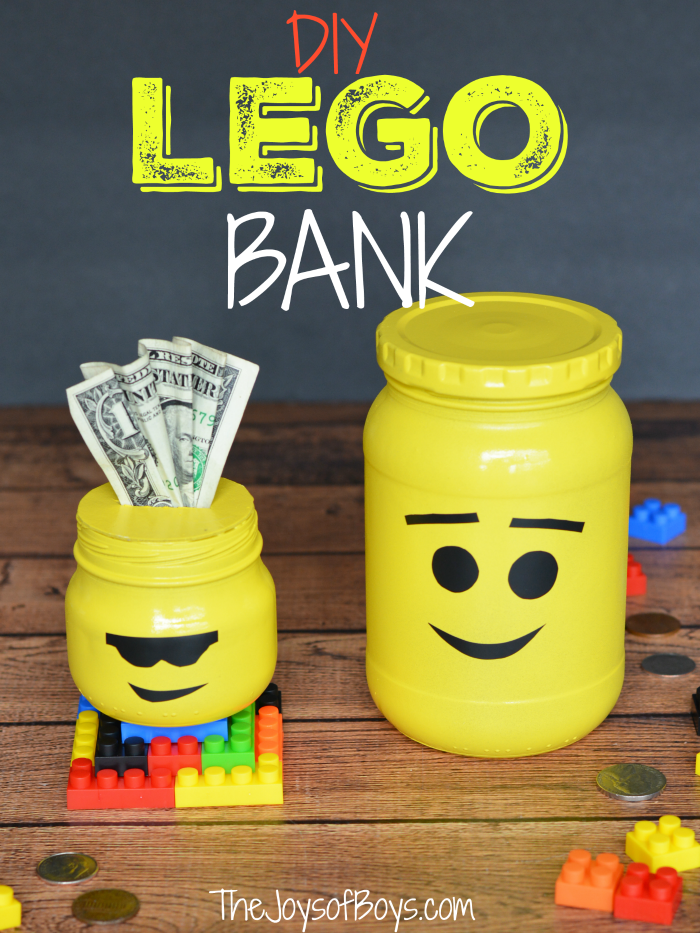 How To Make A Lego Bank Step By Step Instructions