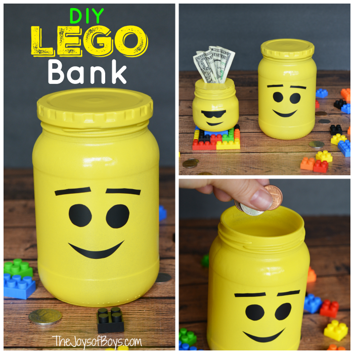 LEGO bank square
