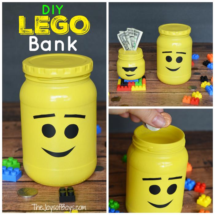 LEGO bank square