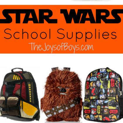 Star Wars School Supplies