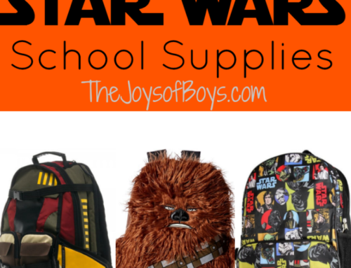 Star Wars School Supplies for Your Future Jedi