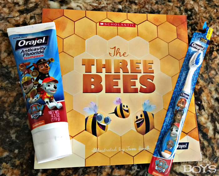 The Three Bees book
