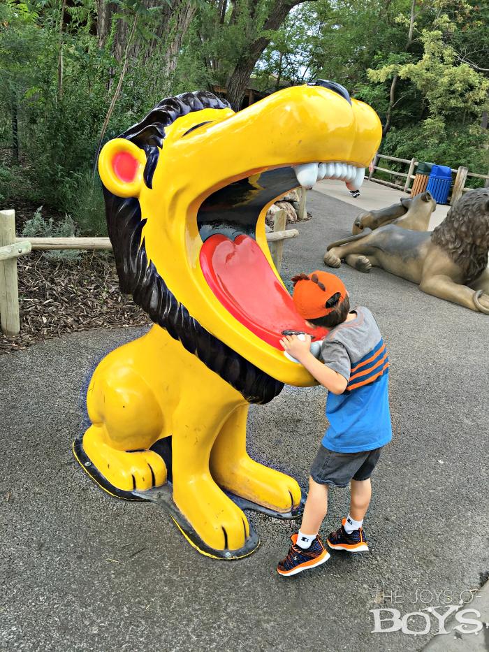 drinking fountain zoo