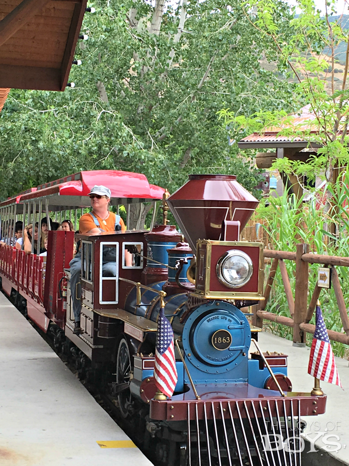 Zoofari Express Train at Hogle Zoo