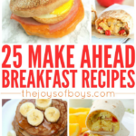 Easy Make Ahead Breakfast Recipes