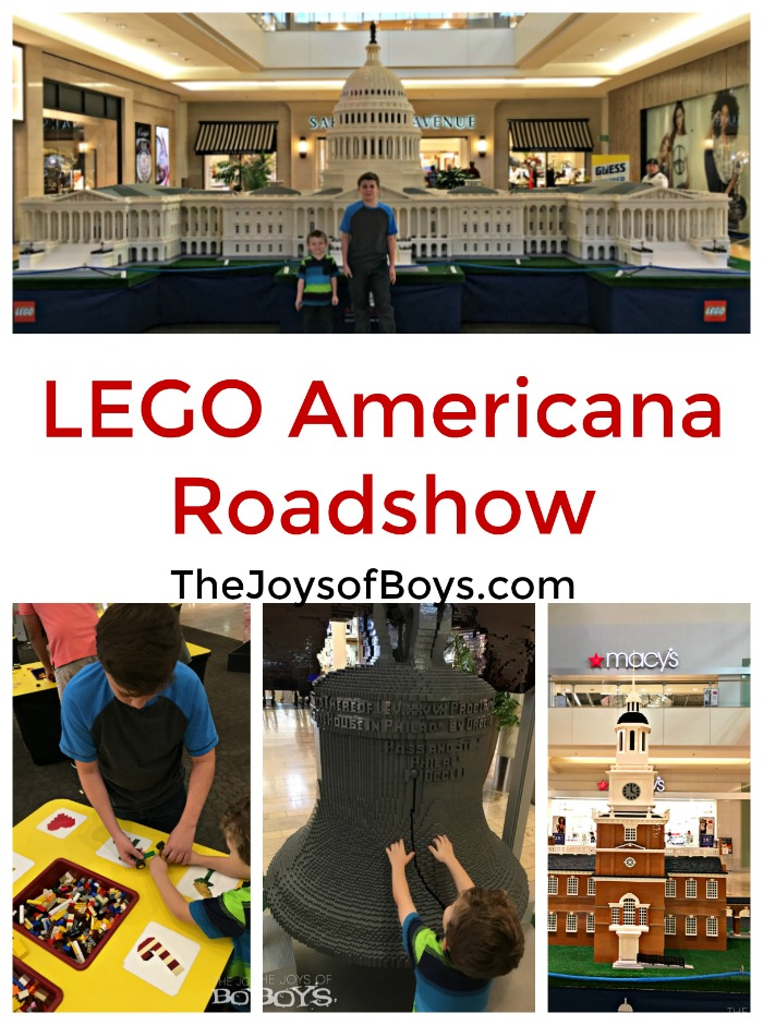 LEGO® Americana Roadshow at Fashion Show