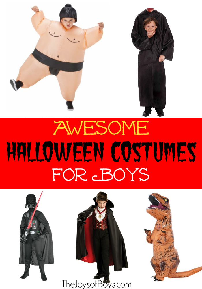 Ten Awesome Halloween Costumes Boys will Love