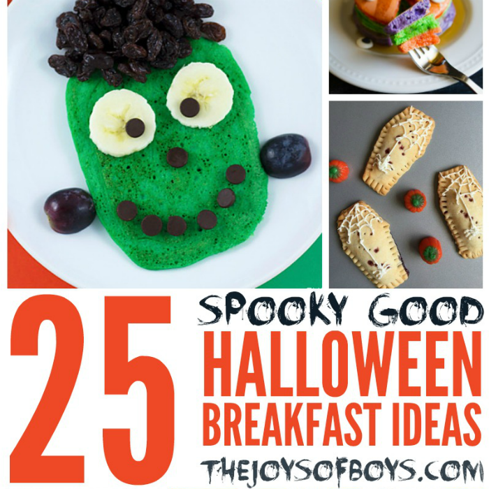 Spooky-Good Halloween Breakfast Ideas
