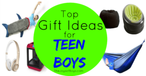 Top Gift Ideas for Teen Boys