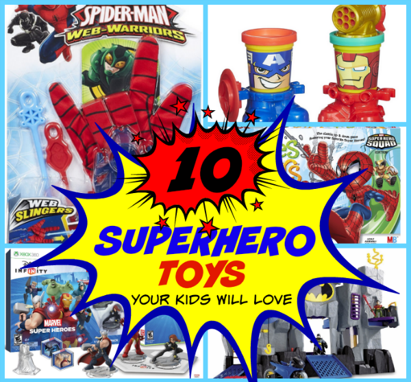 Super Hero Toys For Boys : Gift ideas for teen boys top gifts will love