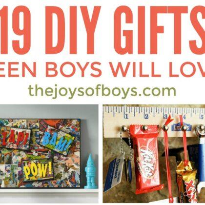 DIY Gifts Teen Boys