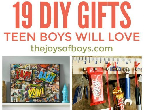 DIY Gifts Teen Boys Will Love