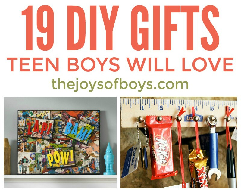 DIY Gifts Teen Boys