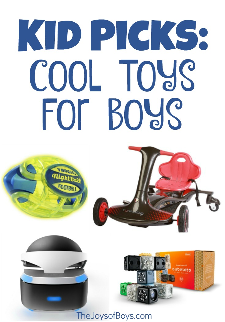 Cool Toys For Boys : Cool toys for boys share their top picks the joys