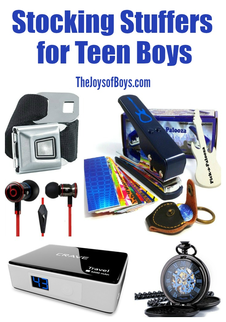 Stocking Stuffers for Teen Boys