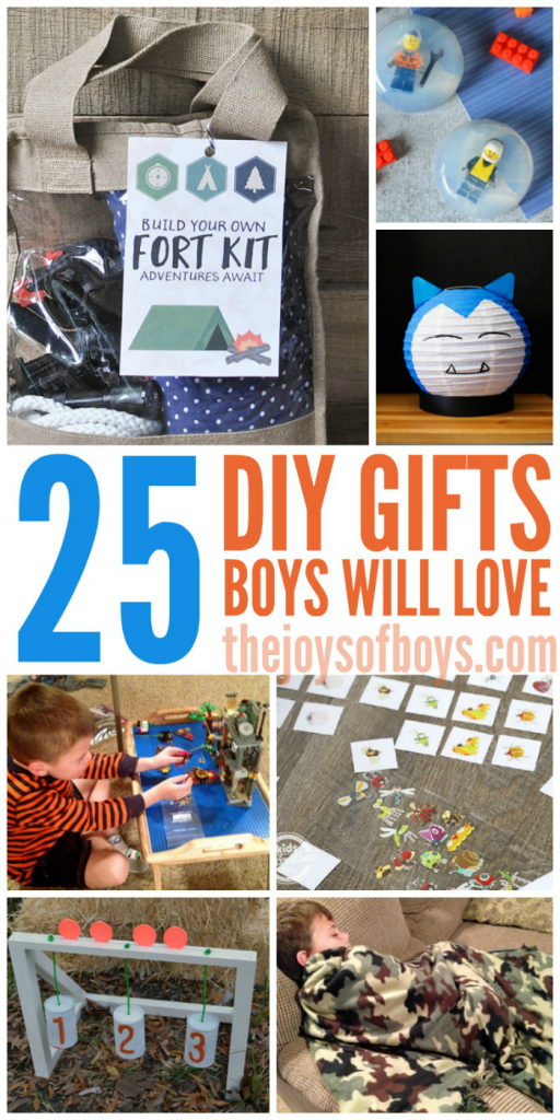 DIY gifts boys