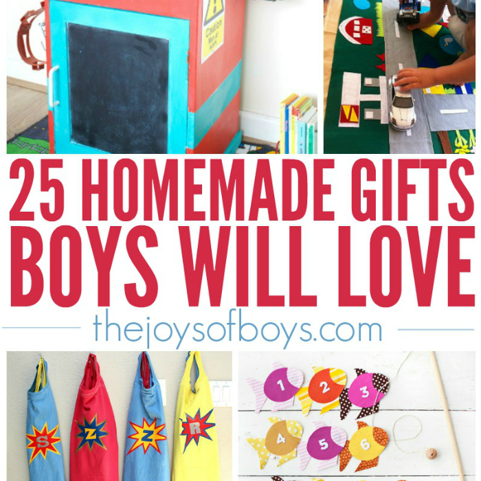 25 homemade gifts boys will love gift ideas for boys for Easy diy gifts for boys