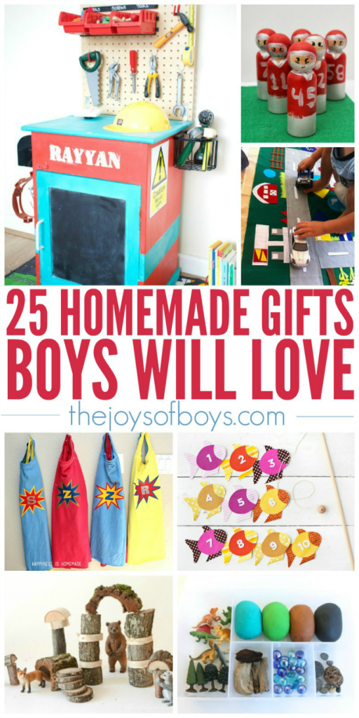 25 Homemade Gifts Boys Will Love