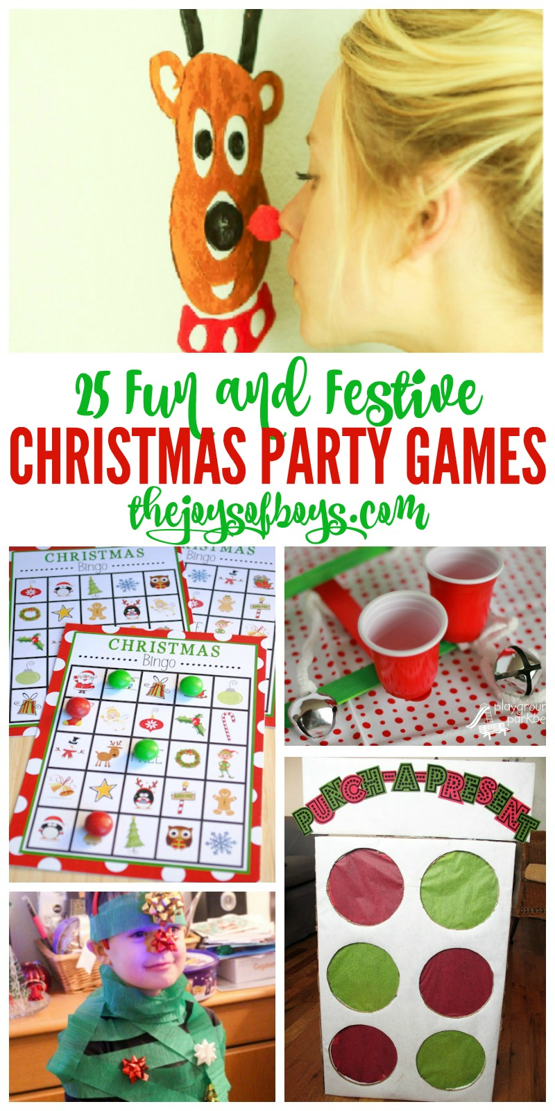 25 christmas party games kids and adults will love
