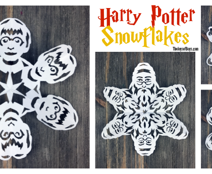 Harry Potter Snowflakes