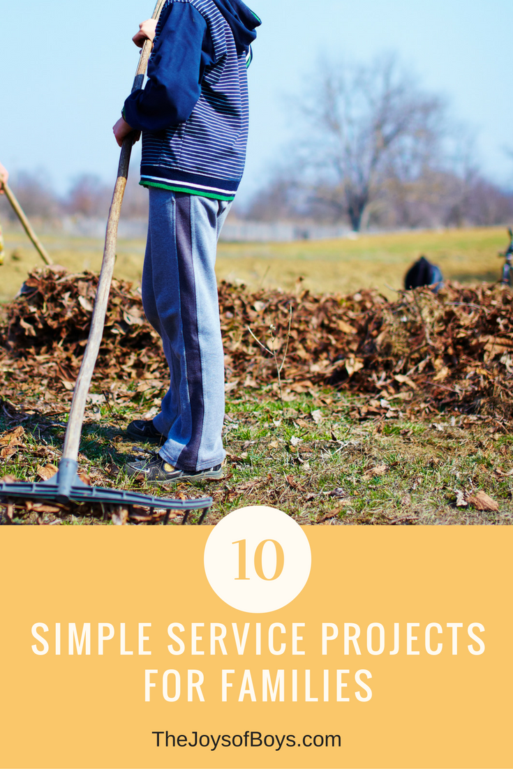 Simple Service Projects for Families