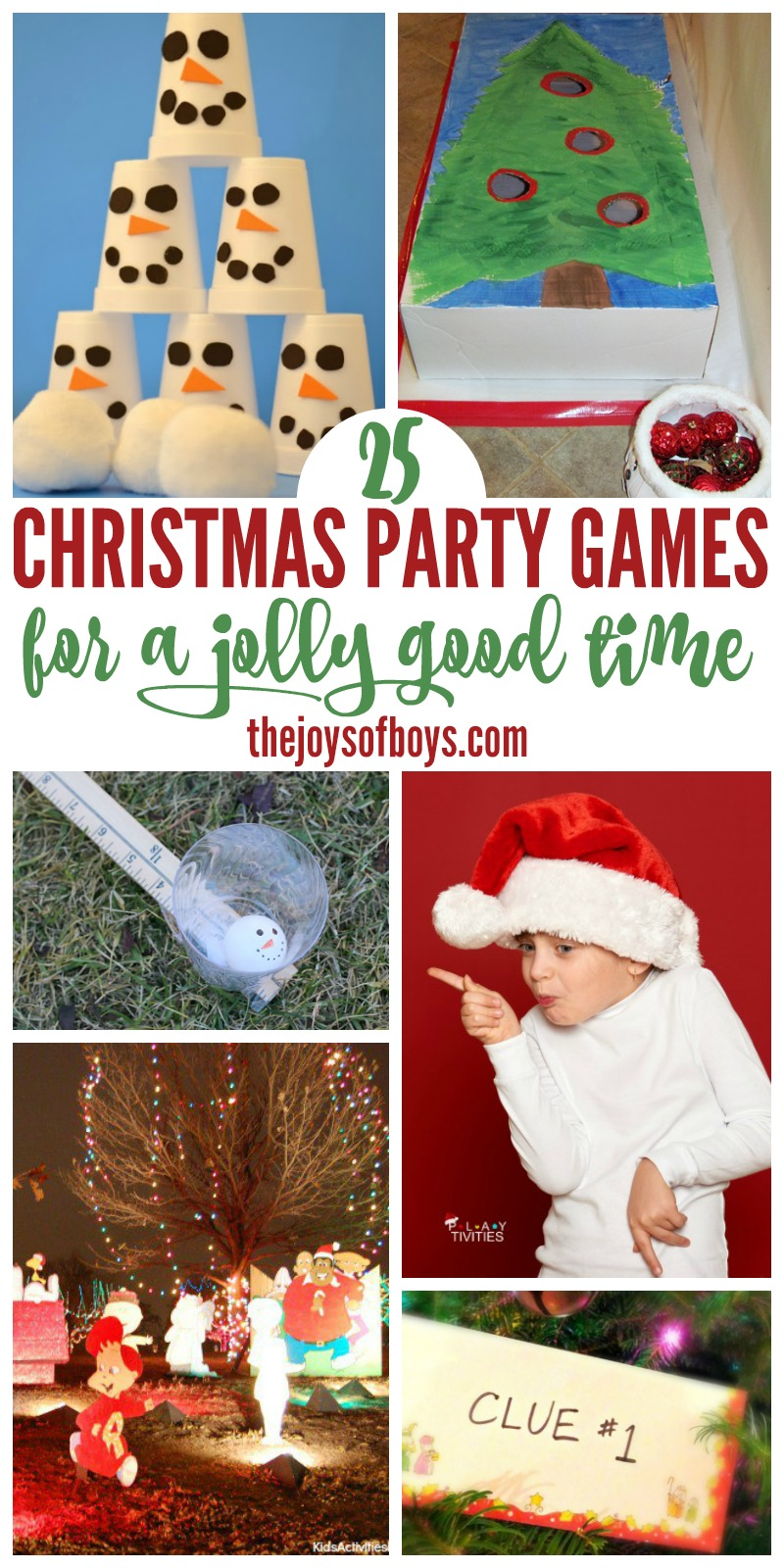 Christmas Party Games Kids Will Love