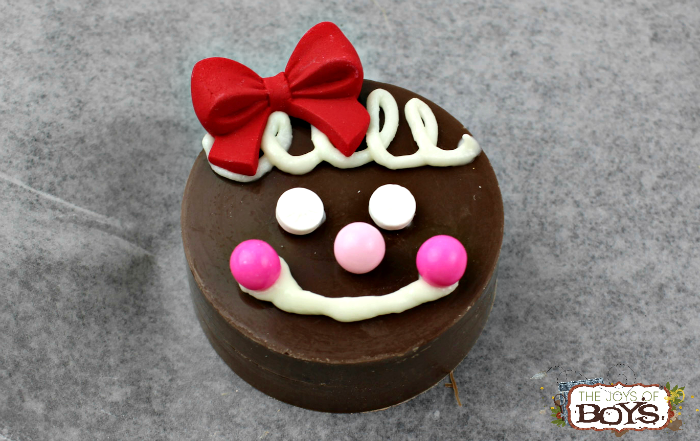 Gingerbread Girl Oreo