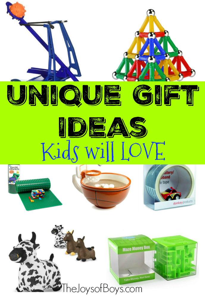 Unique Gift Ideas Kids
