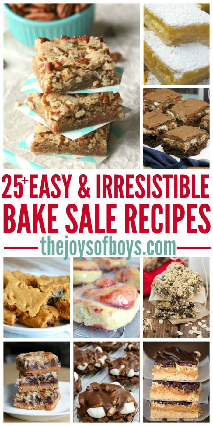 Easy Bake Sale Recipes