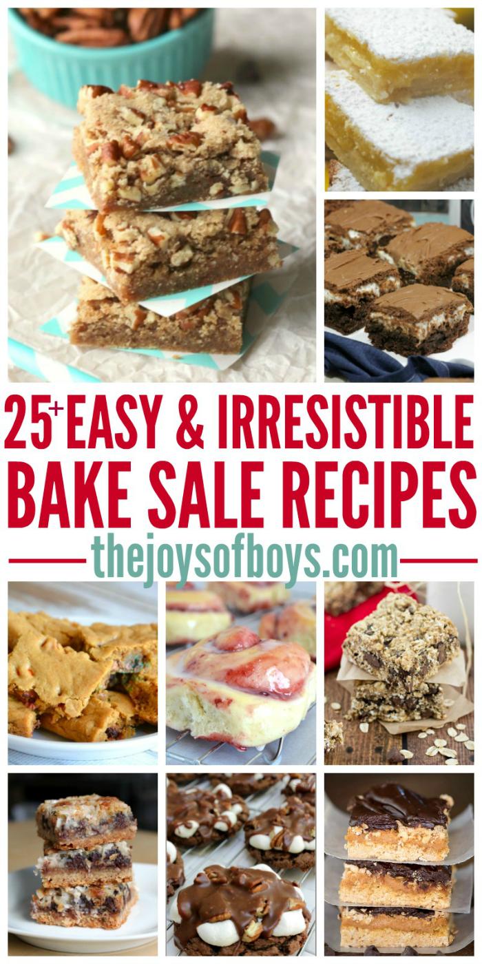 Easy Bake Sale Recipes