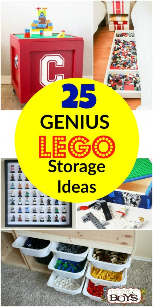 Genius LEGO Storage Ideas
