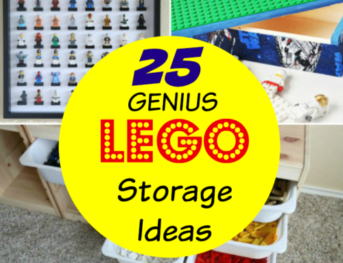 25 Genius LEGO Storage Ideas