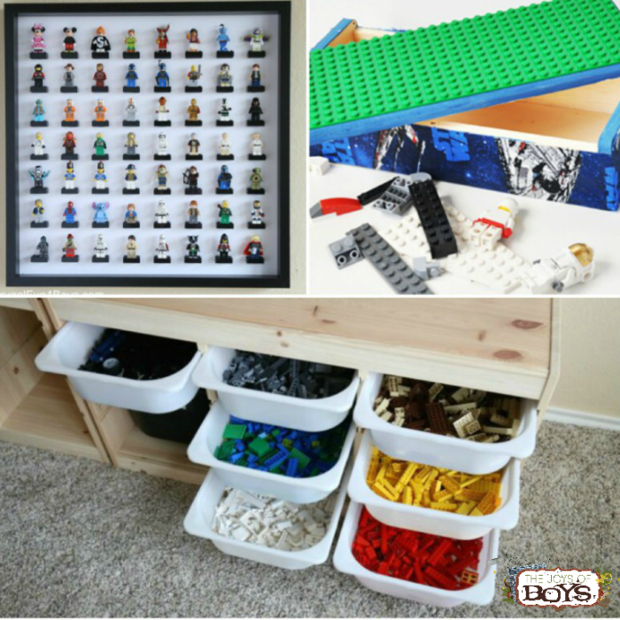 lego storage ideas - Boys Room Lego Ideas